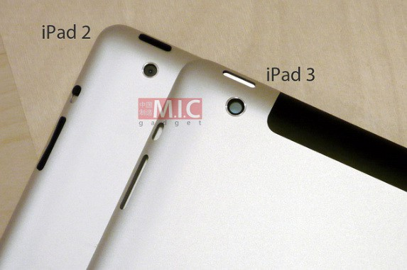 iPad 3 vs iPad 2