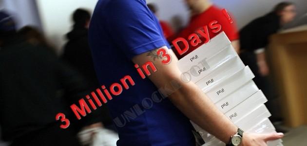 3 Million new iPad Tablets