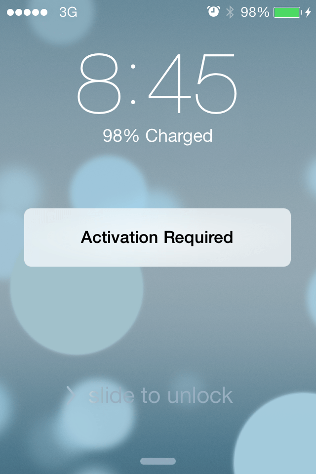 iphone activation required bypass activation lock in ios 7 by disabling find my iphone 11579