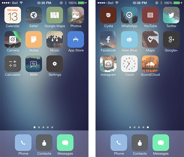 how to get the unlocker theme for ios