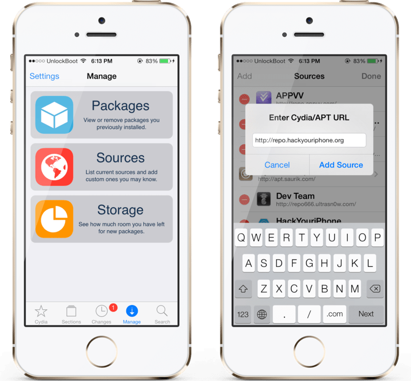 cracked cydia store apps sources