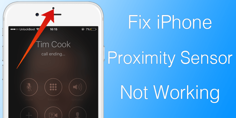 iphone stopped working how to fix proximity sensor not working on iphone unlockboot 9306