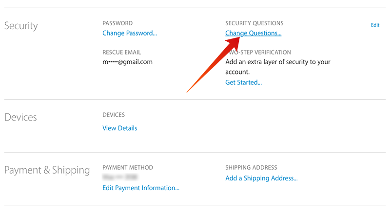How To Reset Apple ID Security Questions Without Rescue ...
