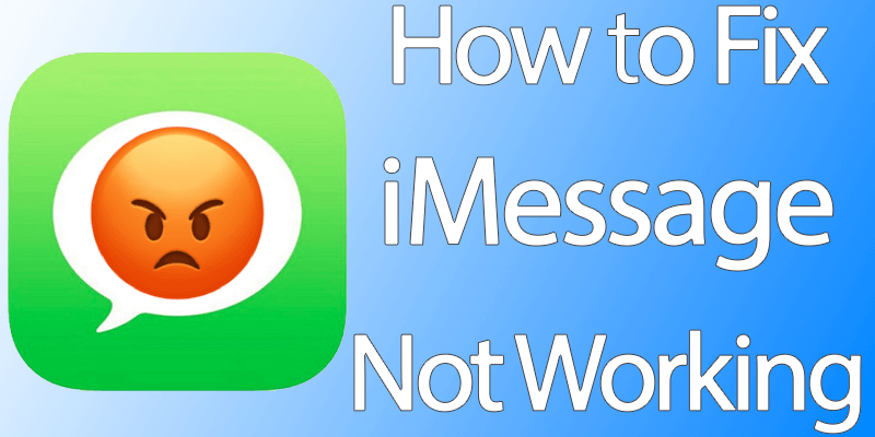 iphone imessage not working fix imessage not working on iphone or running ios 10 15305