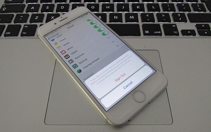 how to make a separate icloud account